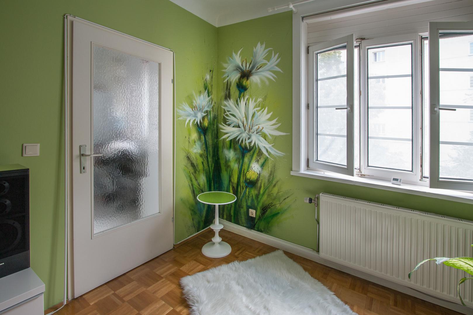 Blumenwiese im Wohnzimmer - SIUZ